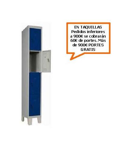 TAQUILLA - ARMARIO CUADRUPLE MONOBLOCK 400MM.