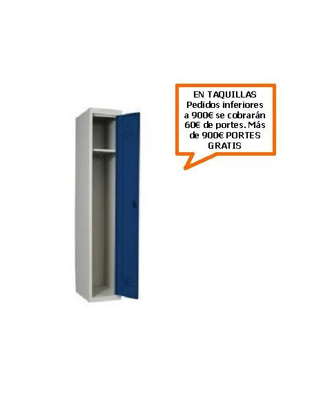 TAQUILLA - ARMARIO DESMONTABLE PRINCIPAL 400MM. DE ANCHO CON 1 PUERTA