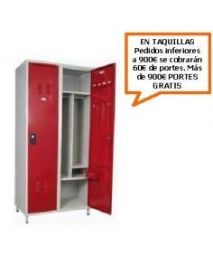 TAQUILLA MONOBLOCK PARA SERVICIOS 500 MM. 2 PUERTAS