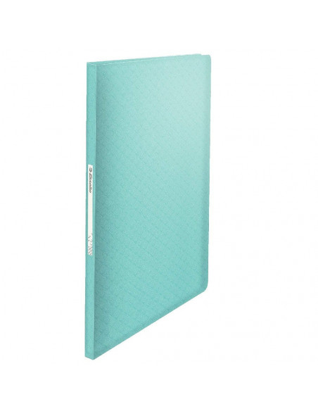 CARPETA DE 40 FUNDAS ESSELTE FABRICDADA EN POLIPROPILENO COLOUR ICE AZUL