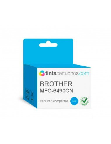 BROTHER CARTUCHO LC1100BK-LC1100C-LC1100Y-LC-1100M COLOR CYAN