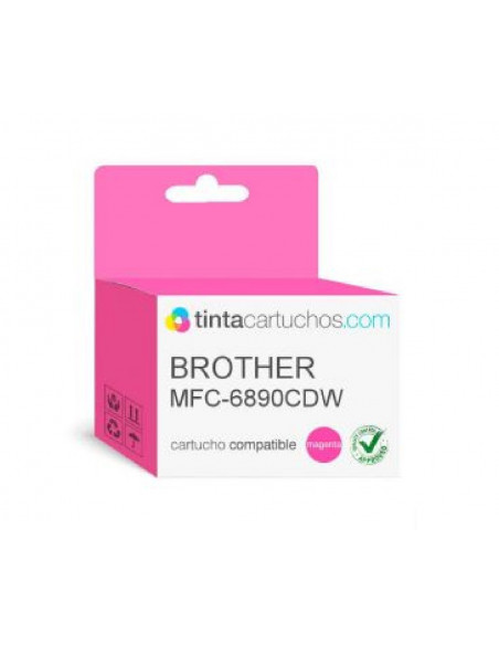 BROTHER CARTUCHO LC1100BK-LC1100C-LC1100Y-LC-1100M COLOR MAGENTA