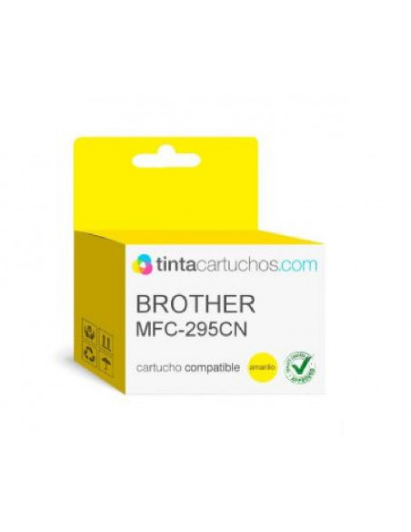BROTHER LC1100Y BROTHER CARTUCHO LC1100BK-LC1100C-LC1100Y-LC-1100M COLOR AMARILLO