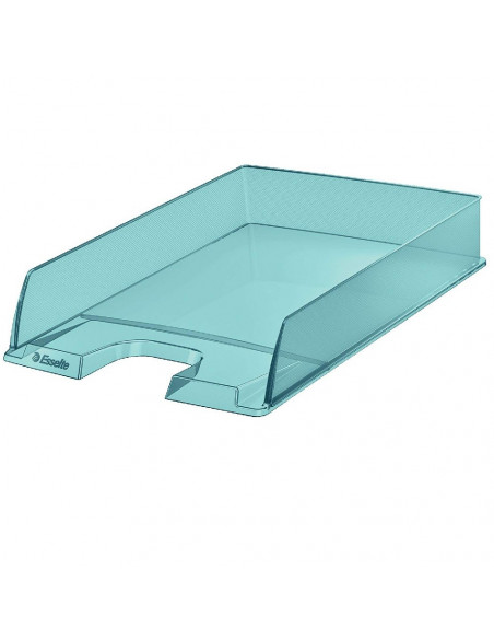 BANDEJA PORTADOCUMENTOS COLOUR ICE DE ESSELTE 254X61X350 MM AZUL
