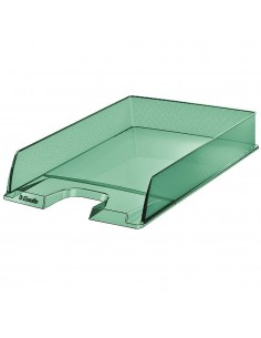 BANDEJA PORTADOCUMENTOS COLOUR ICE DE ESSELTE 254X61X350 MM VERDE
