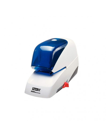 GRAPADORA ELECTRICA RAPID MODELO 5050E COLOR AZUL Y BLANCO
