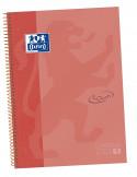 EBOOK 1 TAMAÑO A4+ CON 80 HOJAS 5x5 SOFT TOUCH DE TAPA DURA SURTIDO DE LA MARCA OXFORD COLOR CORAL