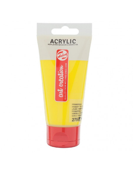 ACRILICO EN TUBO DE 75 ML TALENS ART CREATION COLOR AMARILLO PRIMARIO