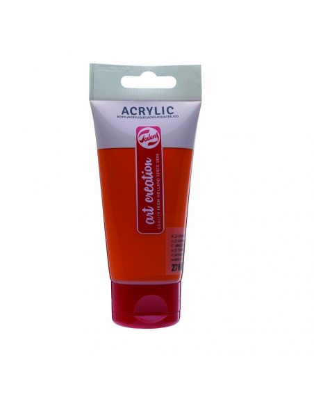 ACRILICO EN TUBO DE 75 ML TALENS ART CREATION COLOR ANARANJADO AZO