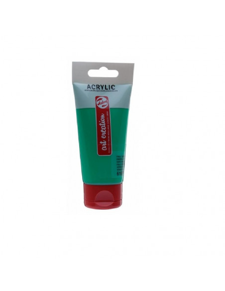 ACRILICO EN TUBO DE 75 ML TALENS ART CREATION COLOR VERDE PERMANENTE VERONES