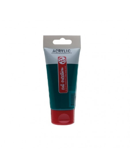 ACRILICO EN TUBO DE 75 ML TALENS ART CREATION COLOR VERDE ESMERALDA