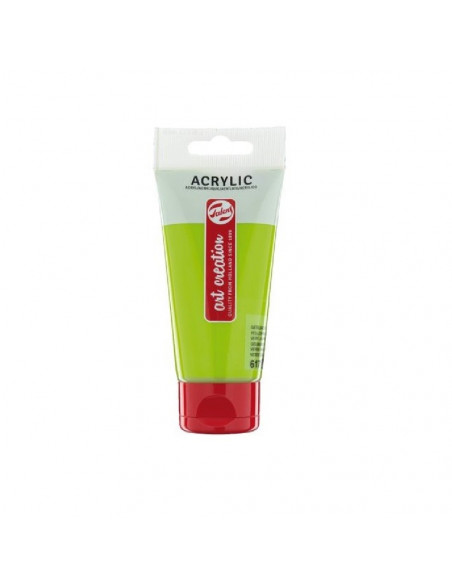 ACRILICO EN TUBO DE 75 ML TALENS ART CREATION COLOR VERDE AMARILLENTO
