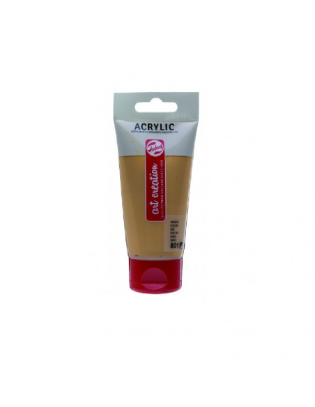 ACRILICO EN TUBO DE 75 ML TALENS ART CREATION COLOR ORO