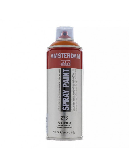 SPRAY ACRILICO 400 ML AMSTERDAM ANARANJADO AZO
