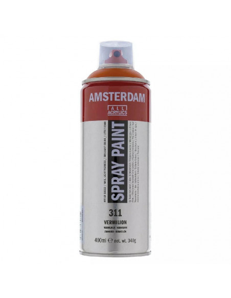 SPRAY ACRILICO 400 ML AMSTERDAM BERMELLON