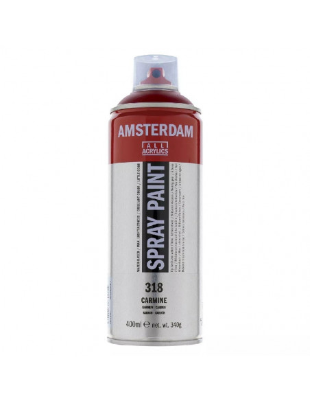 SPRAY ACRILICO 400 ML AMSTERDAM CARMIN