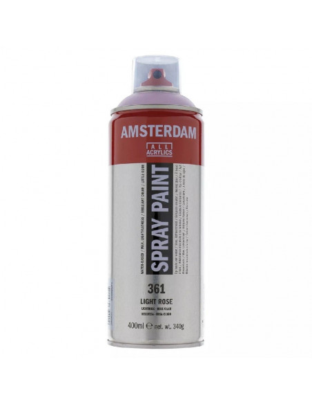SPRAY ACRILICO 400 ML AMSTERDAM ROSA CLARO