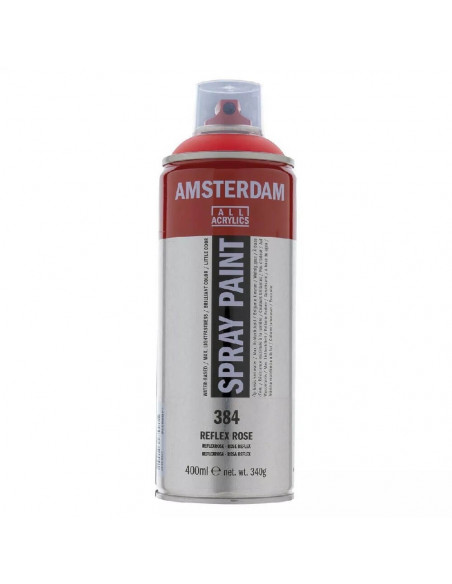 SPRAY ACRILICO 400 ML AMSTERDAM ROSA REFLEX