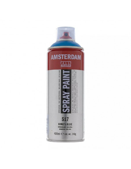 SPRAY ACRILICO 400 ML AMSTERDAM AZUL REAL