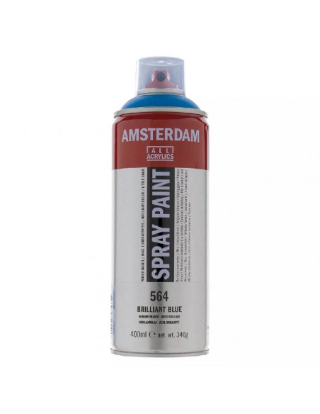 SPRAY ACRILICO 400 ML AMSTERDAM AZUL BRILLANTE