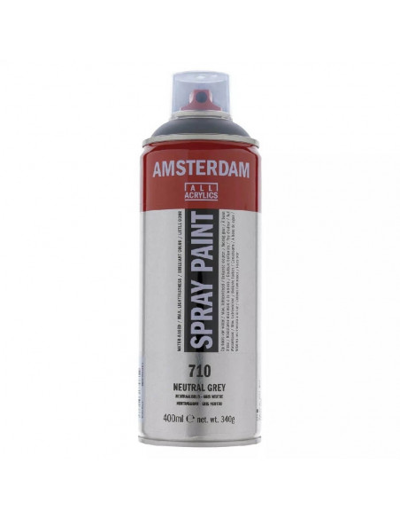 SPRAY ACRILICO 400 ML AMSTERDAM GRIS NEUTRO