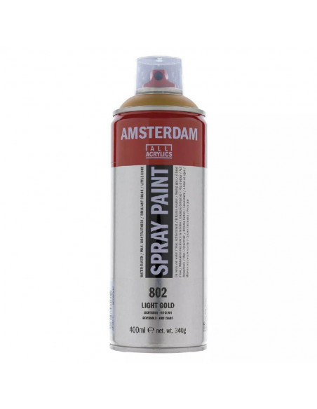 SPRAY ACRILICO 400 ML AMSTERDAM ORO CLARO