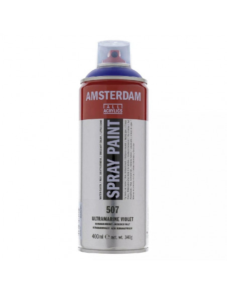 SPRAY ACRILICO 400 ML AMSTERDAM AZUL ULTRAMAR VIOLETA