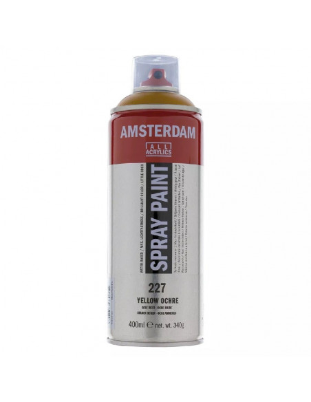 SPRAY ACRILICO 400 ML AMSTERDAM OCRE AMARILLO