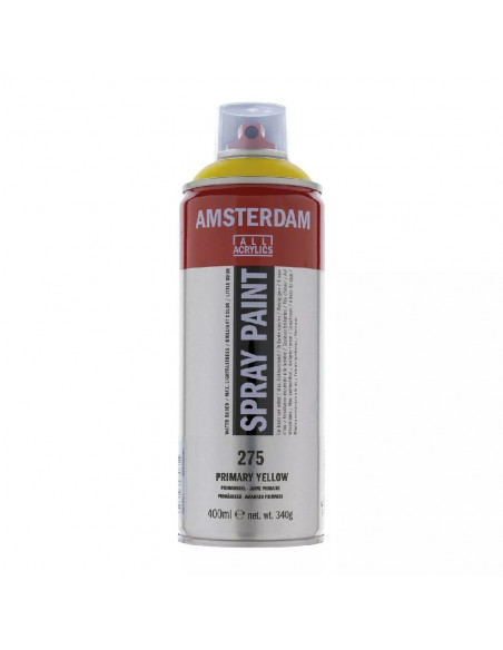 SPRAY ACRILICO 400 ML AMSTERDAM AMARILLO PRIMARIO