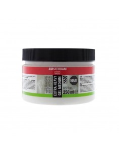 AMSTERDAM MEDIO GEL EXTRA ESPESANTE MATE 250 ML