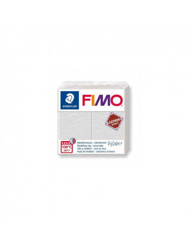 FIMO LEATHER EFFECT 57 GR MARFIL