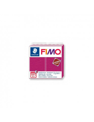 FIMO LEATHER EFFECT 57 GR FRUTOS ROJOS