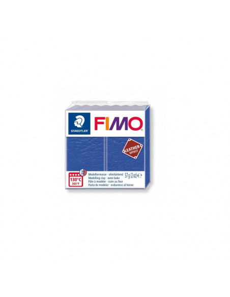 FIMO LEATHER EFFECT 57 GR INDIGO