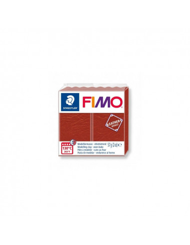 FIMO LEATHER EFFECT 57 GR OXIDO