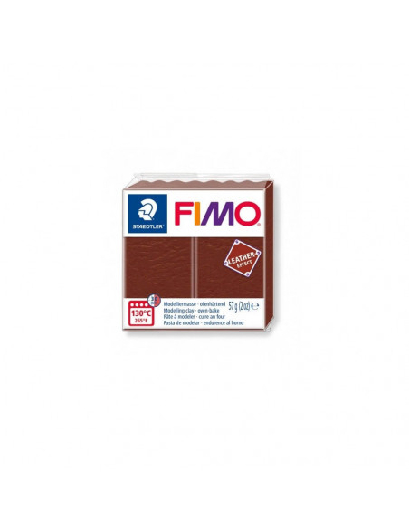FIMO LEATHER EFFECT 57 GR NUEZ