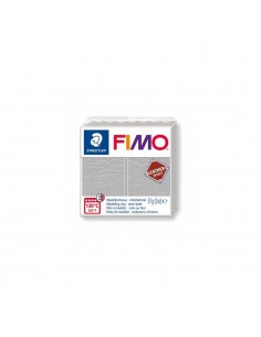 FIMO LEATHER EFFECT 57 GR GRIS PALOMA