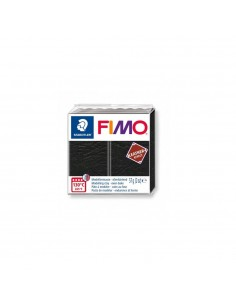 FIMO LEATHER EFFECT 57 GR NEGRO