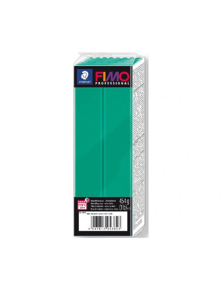 FIMO PROFESSIONAL 454 GR VERDE SOLIDO