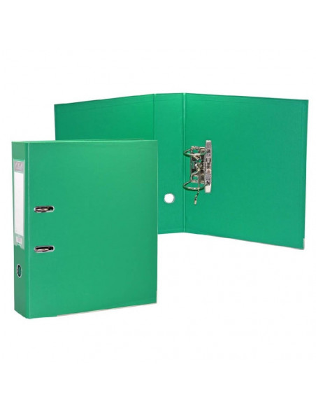 OFFICE CLUB ARCHIVADOR A-Z PVC FOLIO LOMO 75 MM VERDE