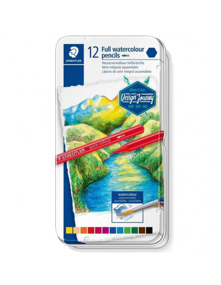 ESTUCHE 12 LAPICES DE COLOR INTEGRALES ACUARELABLES 14610G