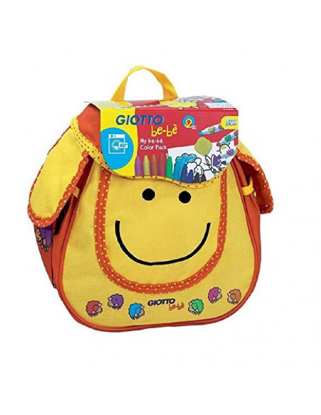 MOCHILA MY BEBE COLOR PACK GIOTTO 465500