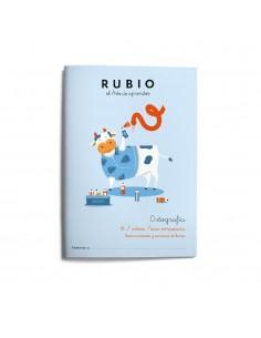 CUADERNO RUBIO ORTOGRAFIA 1...