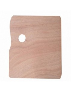 PALETA MADERA RECTANGULAR 24 X 30 WONDER ART