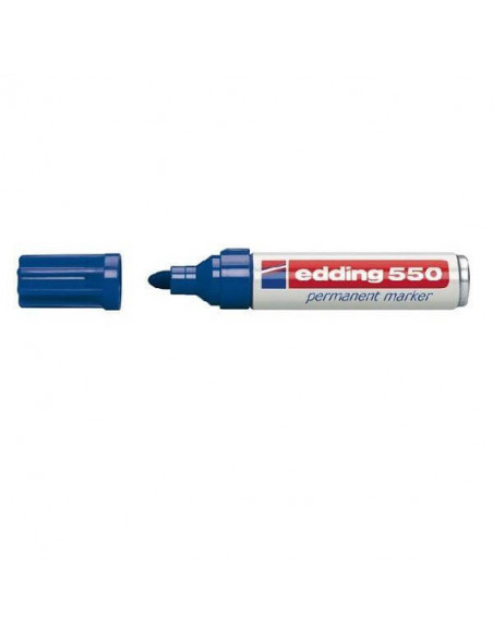 ROTULADOR EDDING 550 COLOR AZUL