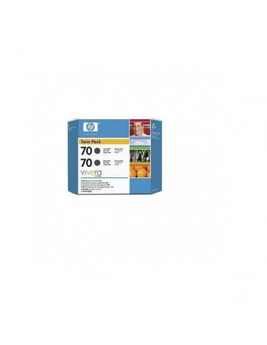 CARTUCHO HP Nº 70 CB340A 130 ML NEGRO FOTO X2100/3100 PACK DOBLE