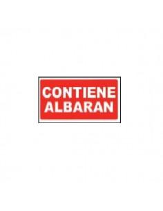 ETIQUETA CONTIENE ALBARAN 200 UND.
