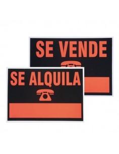 CARTEL DE SE ALQUILA 35x50