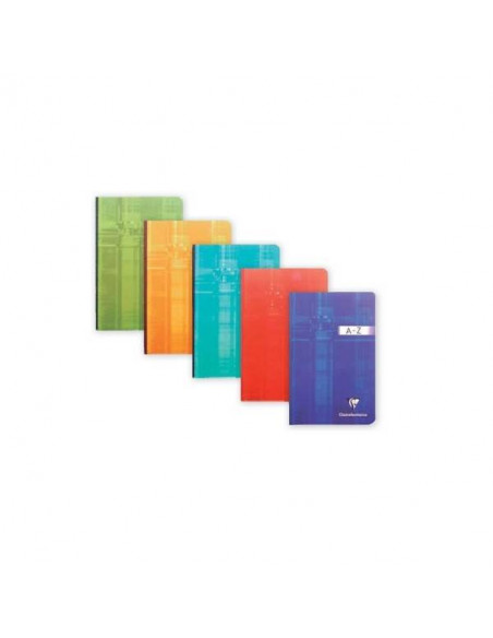 CUADERNO INDICE CLAIREFONTAINE CUADRICULA 170 X 220 MM