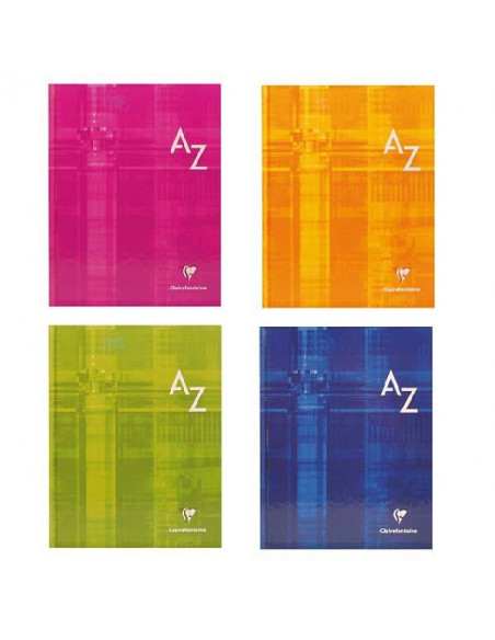 CUADERNO INDICE CLAIREFONTAINE 170X200 MM. COSIDO 96 H.