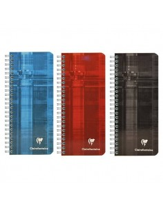 CUADERNO CLAIREFONTAINE 85 X 200 (8672) 5 X 5 90 HOJAS